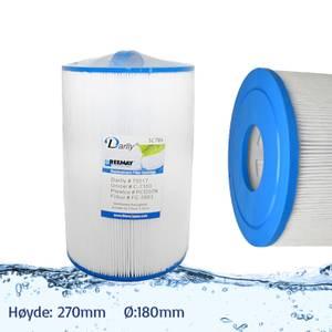 Bilde av Spafilter 50 sq. ft. u/ gjenger, vaskbart (Caldera)